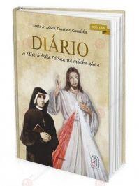 LIVRO DIARIO DE SANTA FAUSTINA KOWALSKA JESUS MISERICORDIOSO CAPA NORMAL