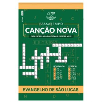 LIVRO PASSATEMPO: EVANGELHO SÃO LUCAS