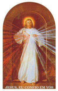 Adesivo para Caminhão - Imagem de Jesus misericordioso