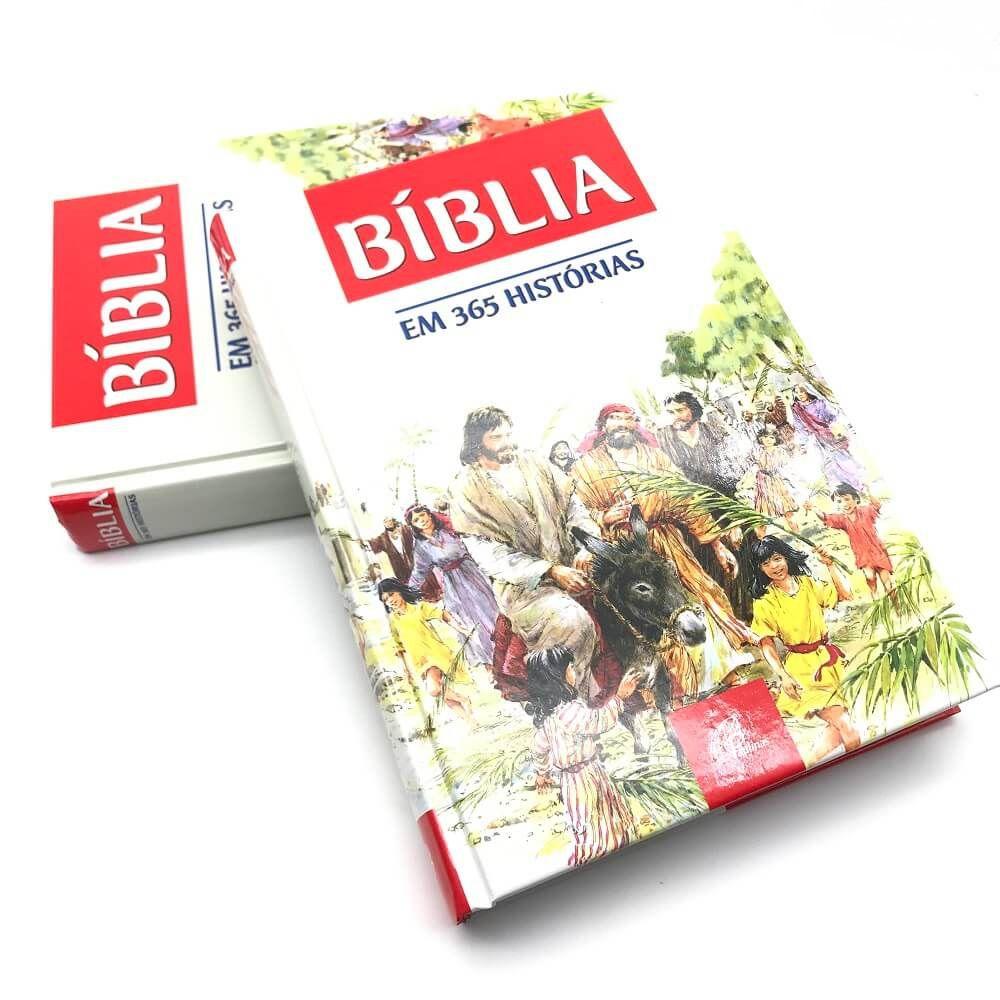 Bíblia Sagrada Infantil para Crianças Ilustrada em 365 historias
