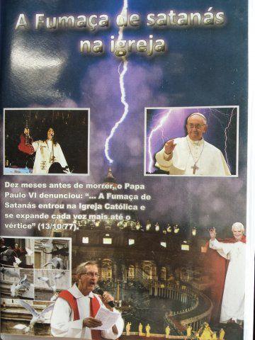DVD A FUMAÇA DE SATANÁS DENTRO NA IGREJA