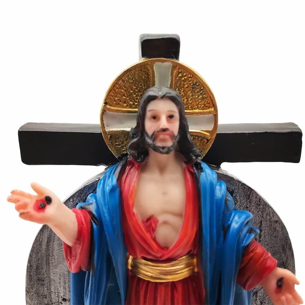 Imagem Santas Chagas de Jesus Padre Reginaldo Manzotti 12,5 cm
