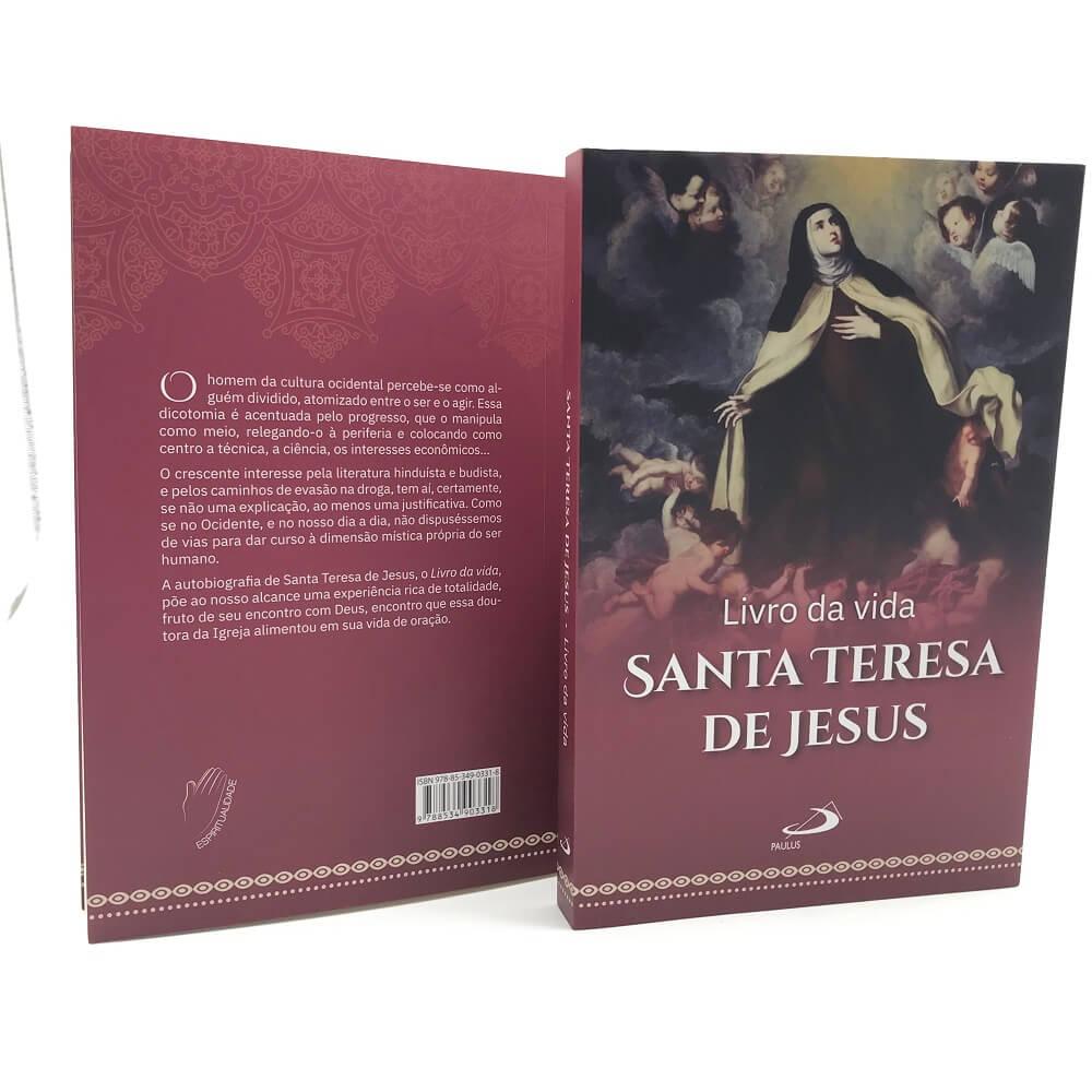 LIVRO DA VIDA: AUTOBIOGRAFIA - SANTA TERESA DE JESUS