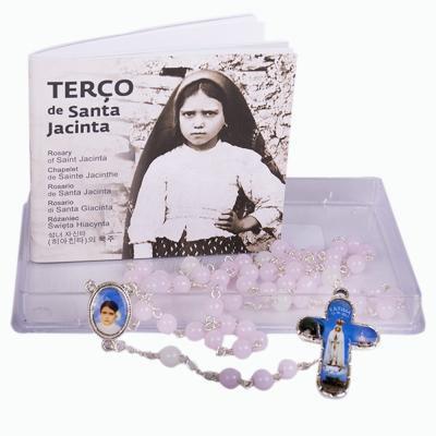 TERÇO SANTA JACINTA 6MM IMPORTADO