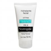 Gel Creme Hidratante Facial NEUTROGENA Oil Free FPS 15 50 ml