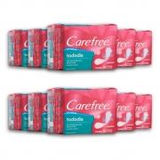 Kit c/ 10 Protetor Diário CAREFREE Todo Dia sem Perfume 15 unidades