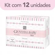 Kit c/ 12 Sabonete Retangular Classic Giovanna Baby Moments 90 g
