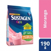 Kit c/ 12 Sustagen Kids Morango 190g