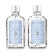 Kit c/ 2 Álcool em Gel Higienizante Blue 500 ml