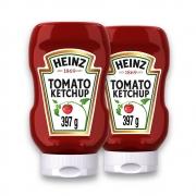 Kit c/ 2 Ketchup Heinz Tradicional 397g