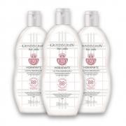 Kit c/ 3 Creme Hidratante Desodorante Giovanna Baby Q10 Blanc Vanilla 200ml