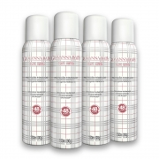 Kit c/ 4 Desodorante Aerossol Giovanna Baby Blanc Vanilla 150 ml