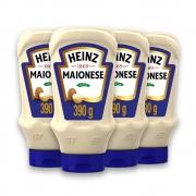 Kit c/ 4 Maionese Heinz Tradicional 390g