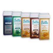 Kit c/ 5 Refis de Cera Roll-on Depil Bella 100g