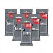 Kit c/ 6 Jontex Preservativo Lubrificado Leve 8 Pague 6