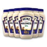 Kit c/ 6 Maionese Heinz Tradicional 400g