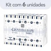 Kit c/ 6 Sabonete Giovanna Baby Moments Blueberry 90g