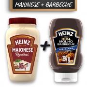 Kit c/ Maionese Receitas + Barbecue Heinz 397g