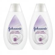 Kit com 2 Hidratantes Daily Care JOHNSON Lavanda e Camomila 200ml