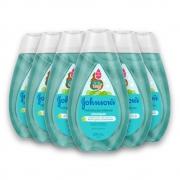 Kit com 6 Shampoos JOHNSON'S Baby Hidratação Intensa 200 ml
