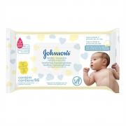 Lenços Umedecidos JOHNSON'S Baby Recém-Nascido Sem Fragrância 96 unidades