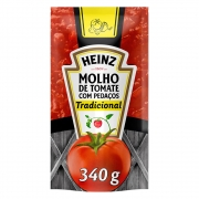 Molho De Tomate Heinz Tradicional 340g