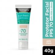 Neutrogena Sun Fresh Oily Skin Pele Clara FPS 70