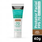 Neutrogena Sun Fresh Oily Skin Pele Negra FPS 70