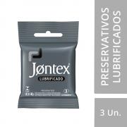 Preservativo JONTEX  Lubrificado 3 unidades