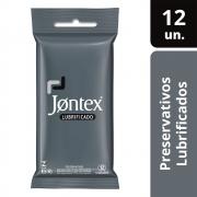 Preservativo Jontex Lubrificado c/ 12 unidades