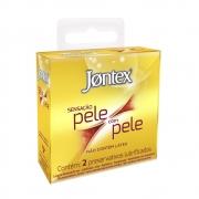 Preservativo JONTEX Pele Com Pele  2 unidades