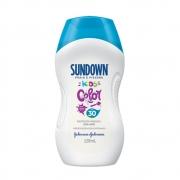 Protetor Solar SUNDOWN Praia e Piscina Kids Color FPS 30 120ml