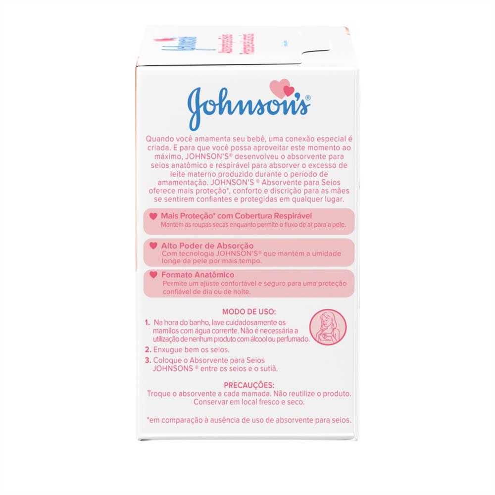 Absorventes para Seios JOHNSON'S 12 unidades