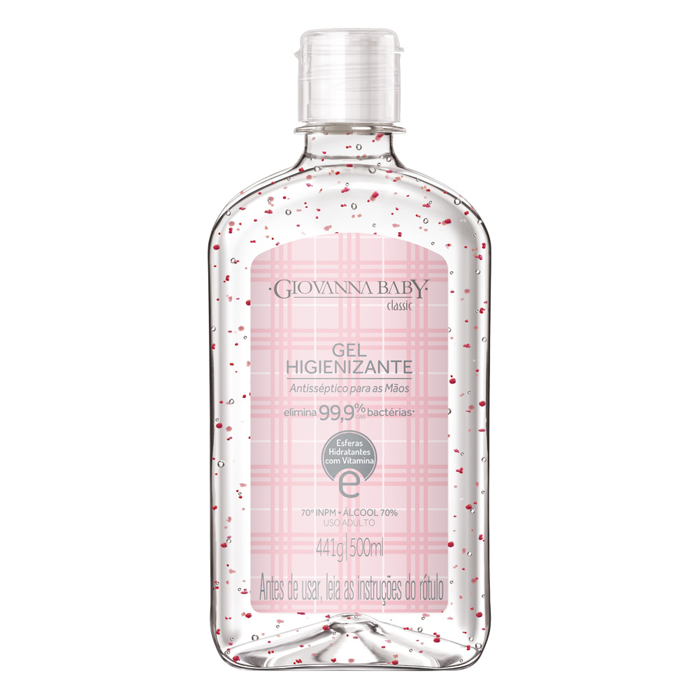 Álcool em Gel Higienizante Classic 500 ml