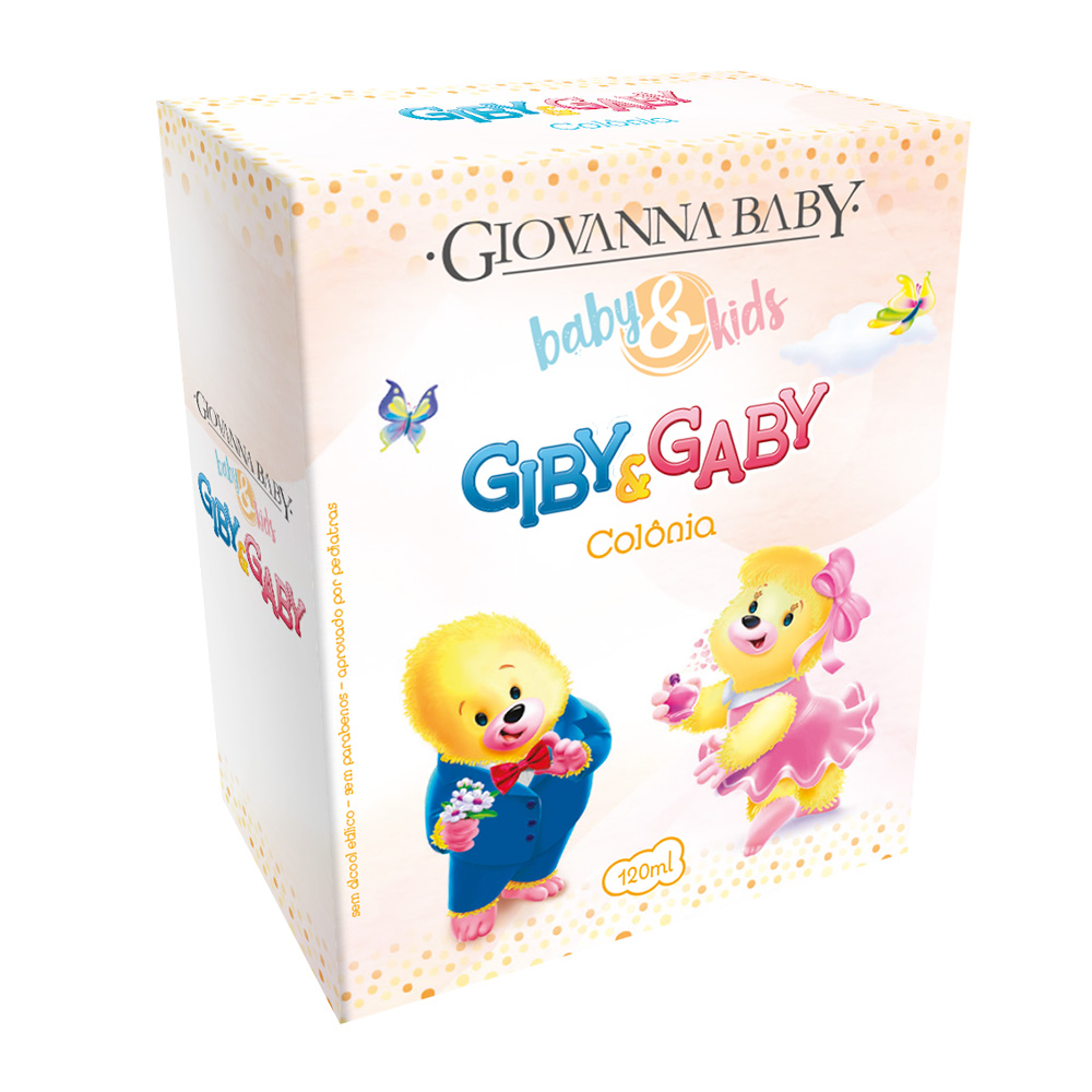Colônia Unissex Baby e Kids Giovanna Baby 120ml