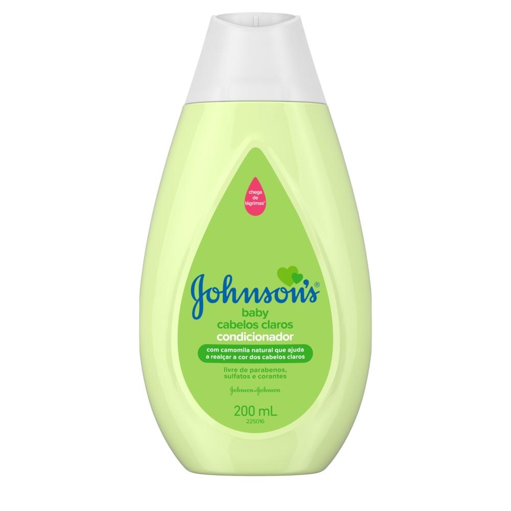 Condicionador JOHNSON?S Baby Cabelos Claros 200ml