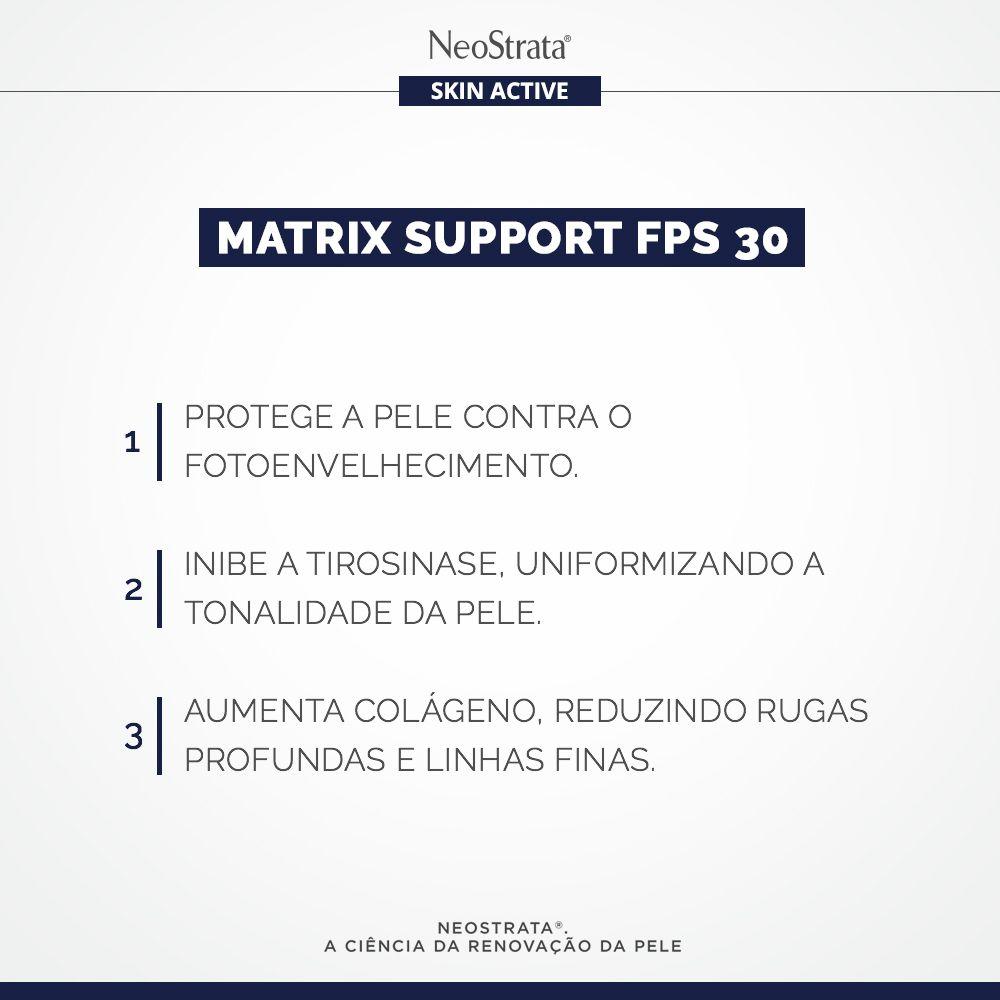 Creme Antissinais Neostrata Skin Active Matrix Support FPS 30 50g