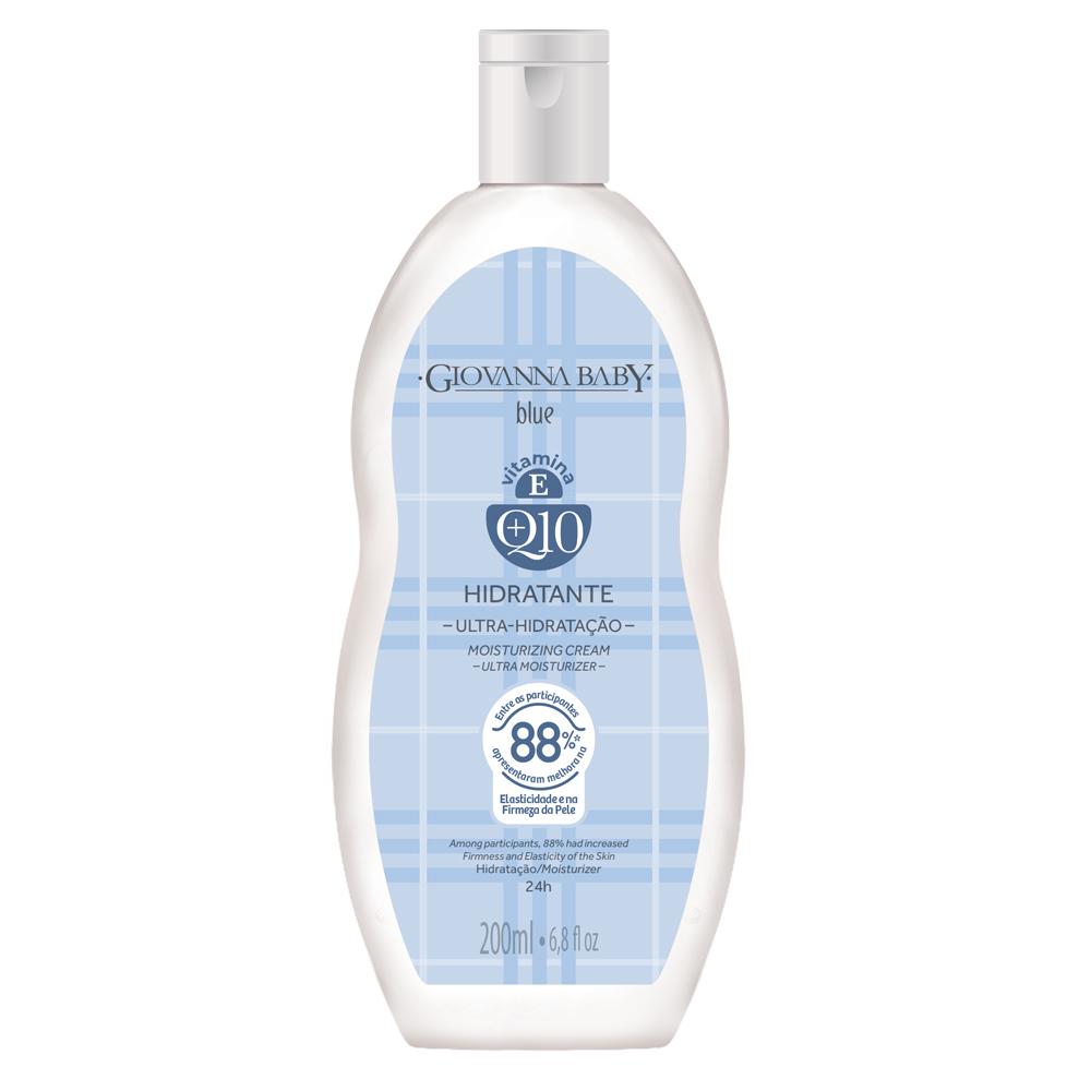 Creme Hidratante Desodorante Q10 Giovanna Baby Blue 200ml