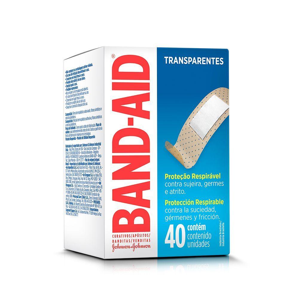 Curativos BAND AID Regular 40 unidades