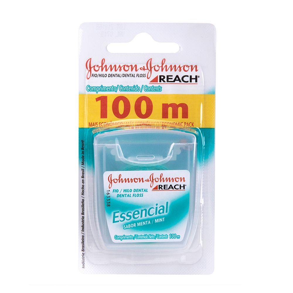 Fio Dental REACH Johnson's Essencial 100m
