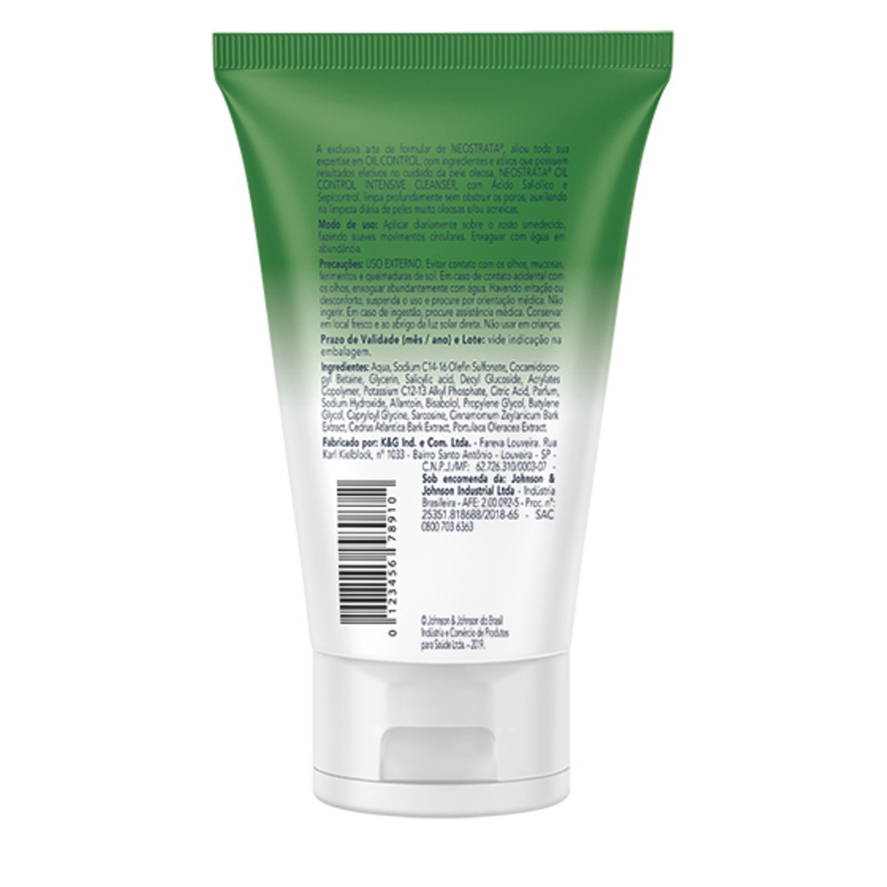 Gel de Limpeza Facial Neostrata Oil Control Intensive Cleanser 150g