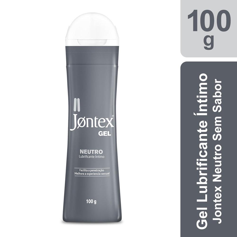 Gel Lubrificante Íntimo Jontex Neutro - Sem Sabor - 100g