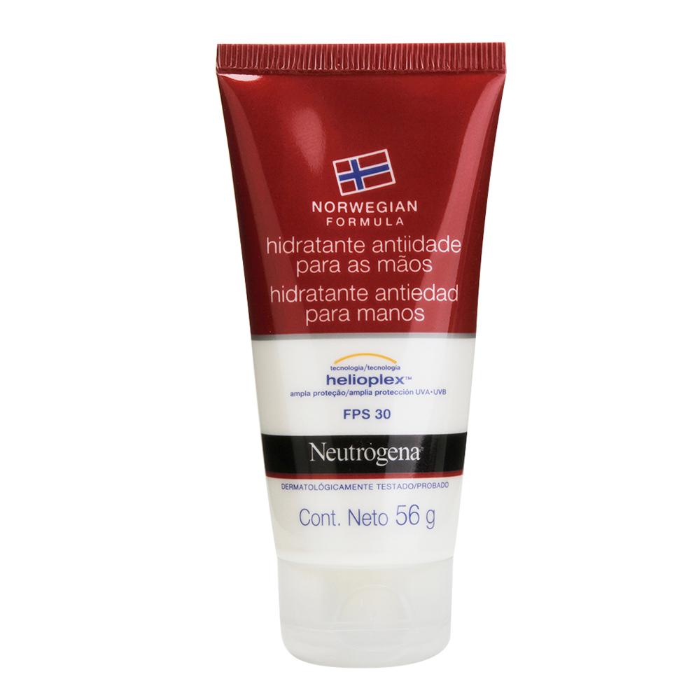 Hidratante Anti-Idade Mãos NEUTROGENA Norw Fórmu FPS 30 56g