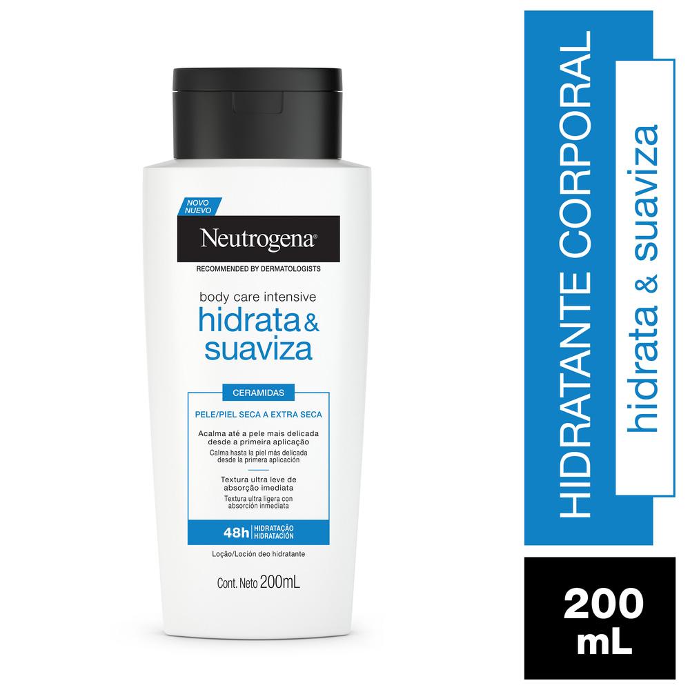 Hidratante Corporal Neutrogena Body Care Intensive Hidrata e Suaviza 200ml