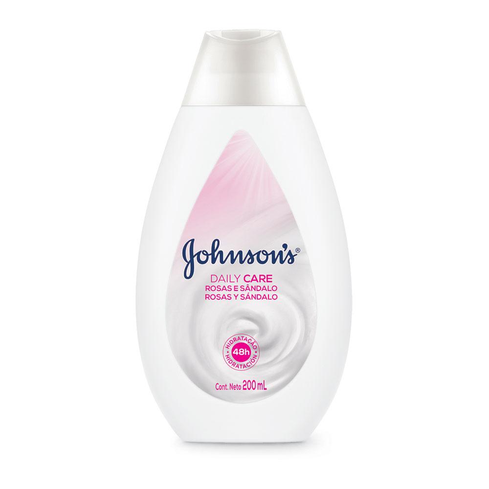Hidratante Daily Care JOHNSON'S Rosas e Sandalo 200ml
