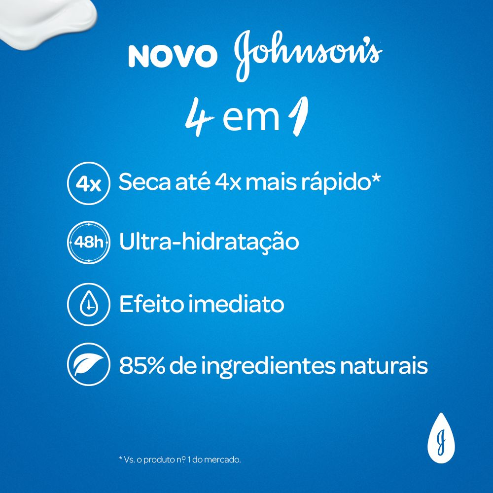 Hidratante Nutri Spa Renovadora JOHNSON'S Romã 400ml