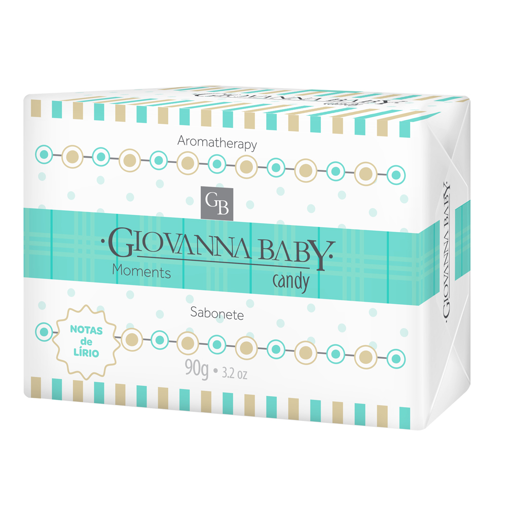 Kit c/ 12 Sabonete Giovanna Baby Moments Candy 90g