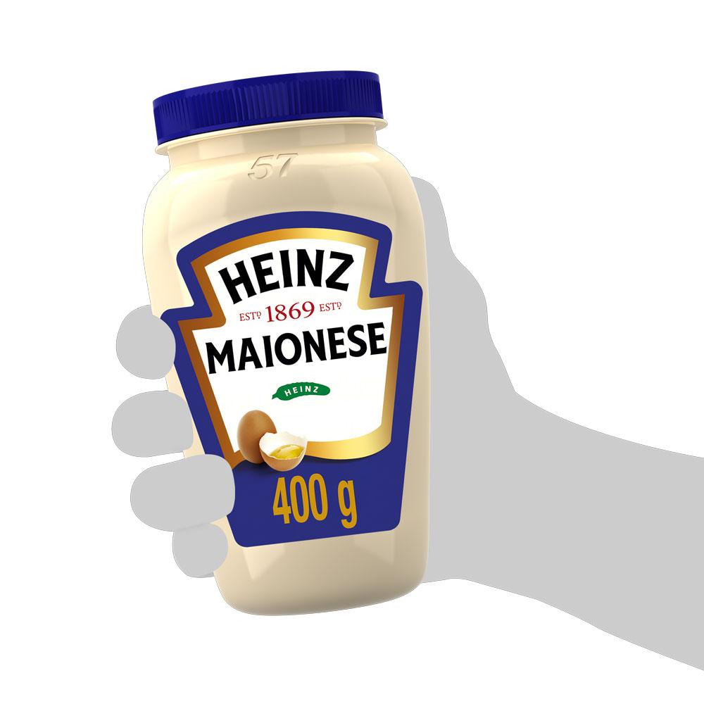 Kit c/ 2 Maionese Heinz Tradicional 400g