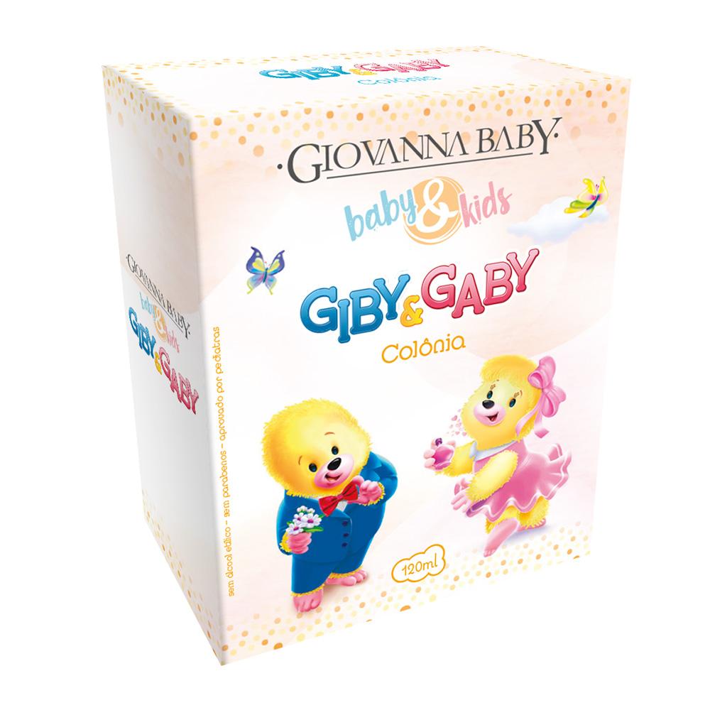 Kit c/ 3 Colônia Unissex Baby e Kids Giovanna Baby 120ml