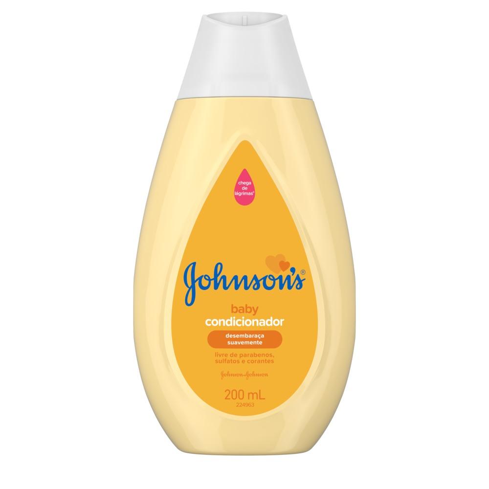Kit c/ 3 Condicionador JOHNSON'S Baby Regular 200 ml
